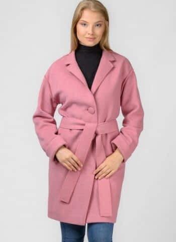 Легкое пальто со спущенным рукавом