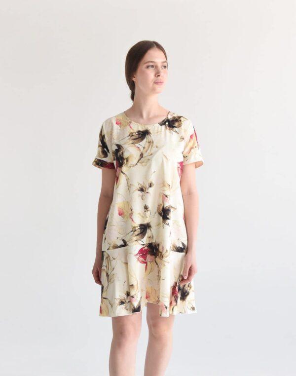 Легкое платье длины мини