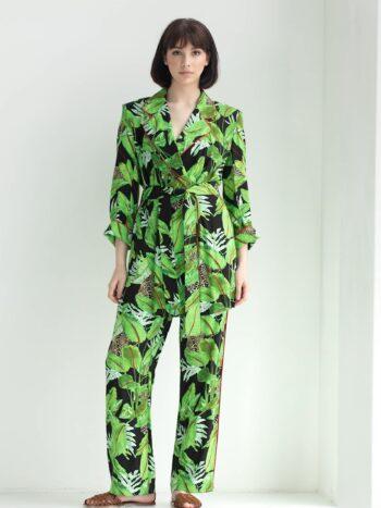 Костюм - пижама с принтом