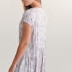 Платье длины макси с цветочным принтом